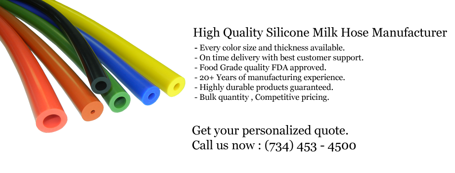 Milk Hose and Silicone Rubber Tubing